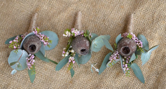 Gumnut Buttonholes